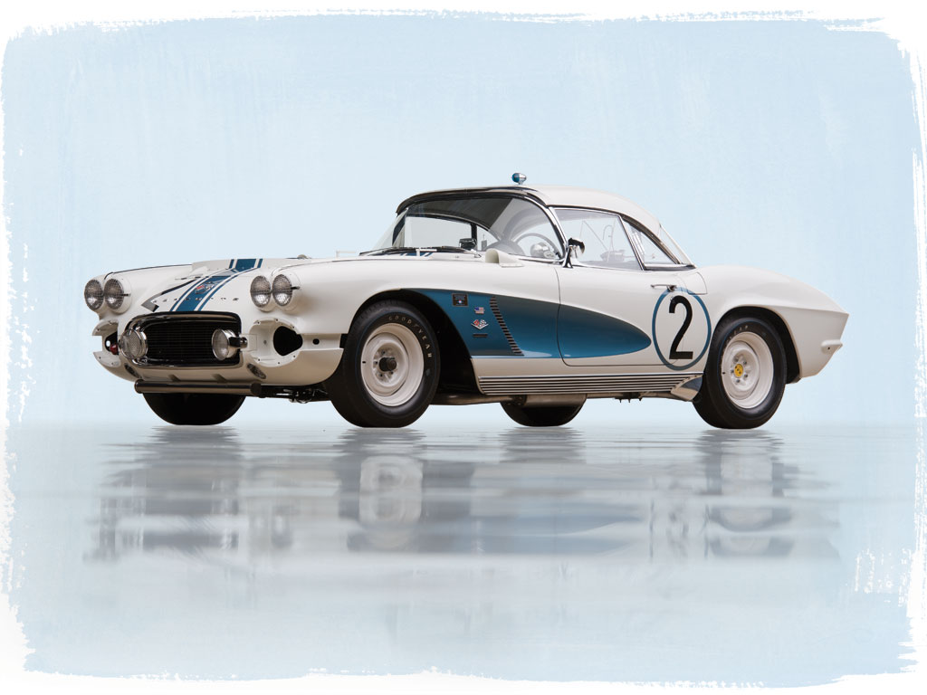"Chevrolet Corvette ""Gulf Oil"" Race Car – 1962"