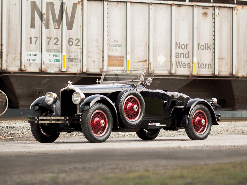 Stutz Vertical Eight Custom Black Hawk