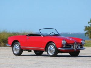 Alfa Romeo Giulietta Spider – 1961
