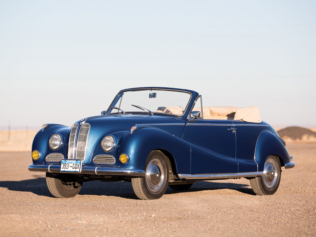 BMW 502 Cabriolet by Baur – 1956