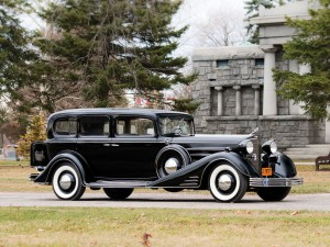 Cadillac V-16 Seven-Passenger Sedan by Fleetwood – 1933