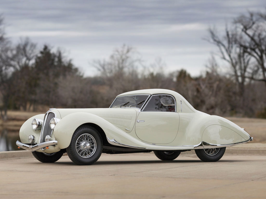 Delahaye 135 MS Coupe by Figoni et Falaschi.