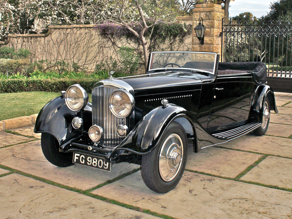 Bentley 3½-Litre Three-Position Dropped Coupe – 1934