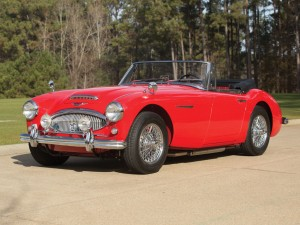 Austin Healey 3000 Mark II BJ7 Sports Convertible – 1963