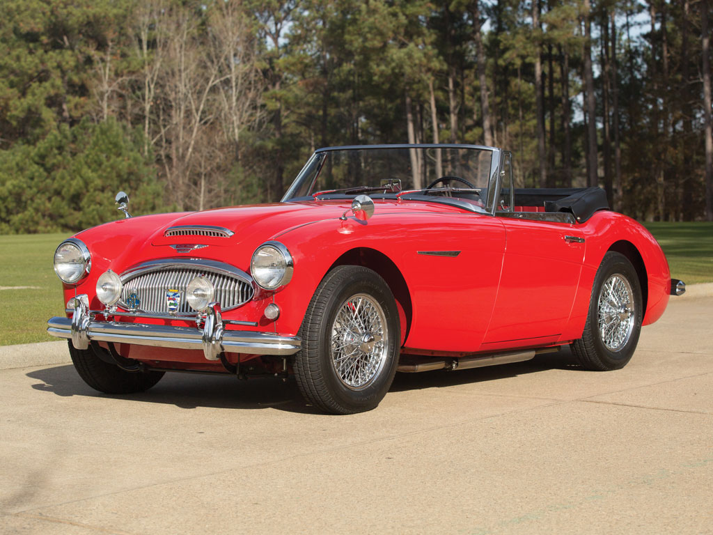 Austin Healey 3000 Mark II BJ7 Sports Convertible