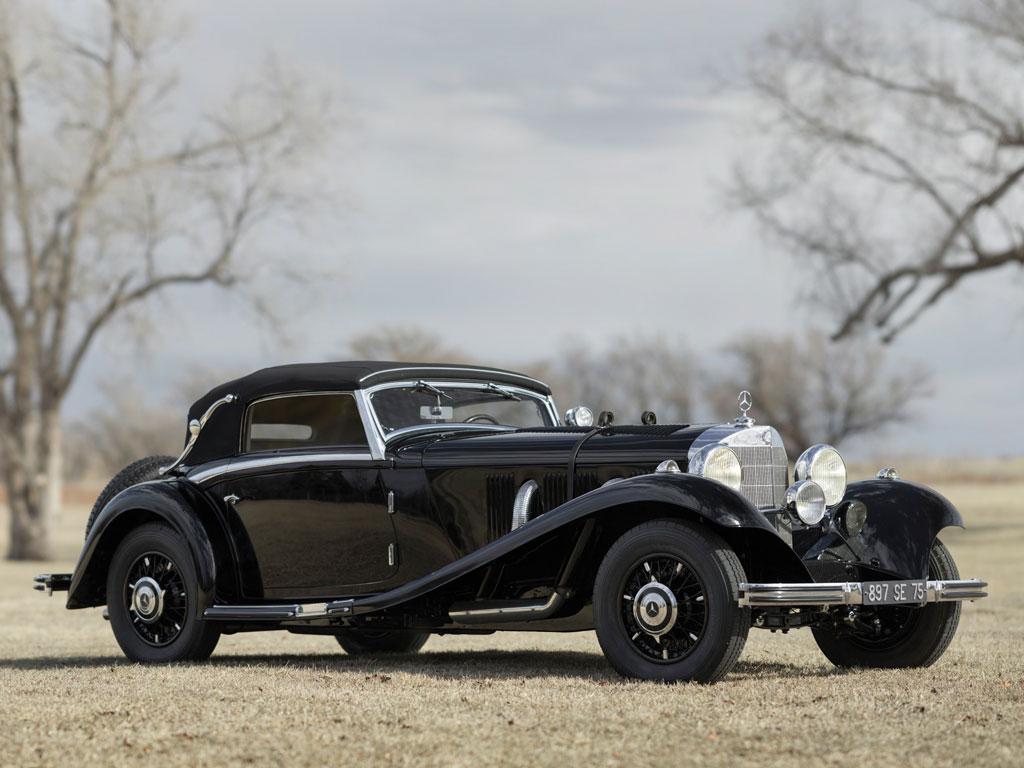 Mercedes-Benz 500 / 540 K Cabriolet A – 1935