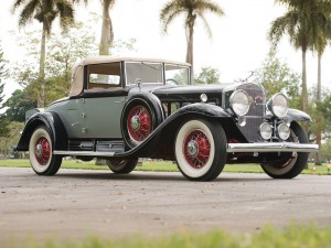 Cadillac V16 Convertible Coupe by Fleetwood – 1930