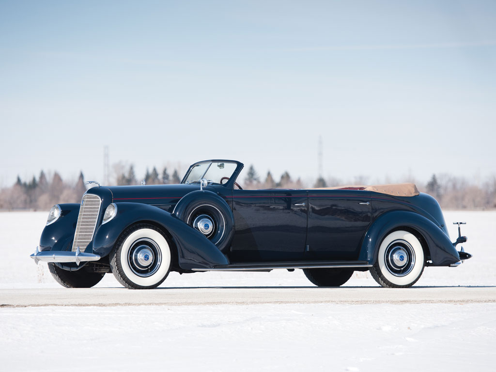 Lincoln Model K Convertible Sedan – 1937
