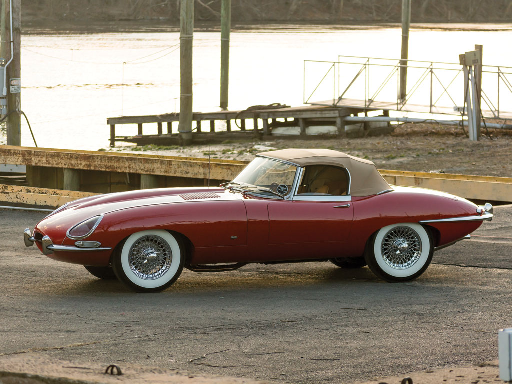 Jaguar E-Type Series 1 3.8-Litre Roadster – 1961