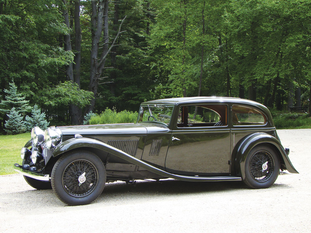 Alvis Speed 20 SB Two Door Saloon – 1934
