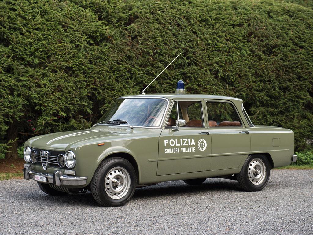 Alfa Romeo Giulia Super Polizia
