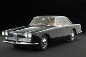 Alfa Romeo 2000 Coupe Praho Superleggera – 1960