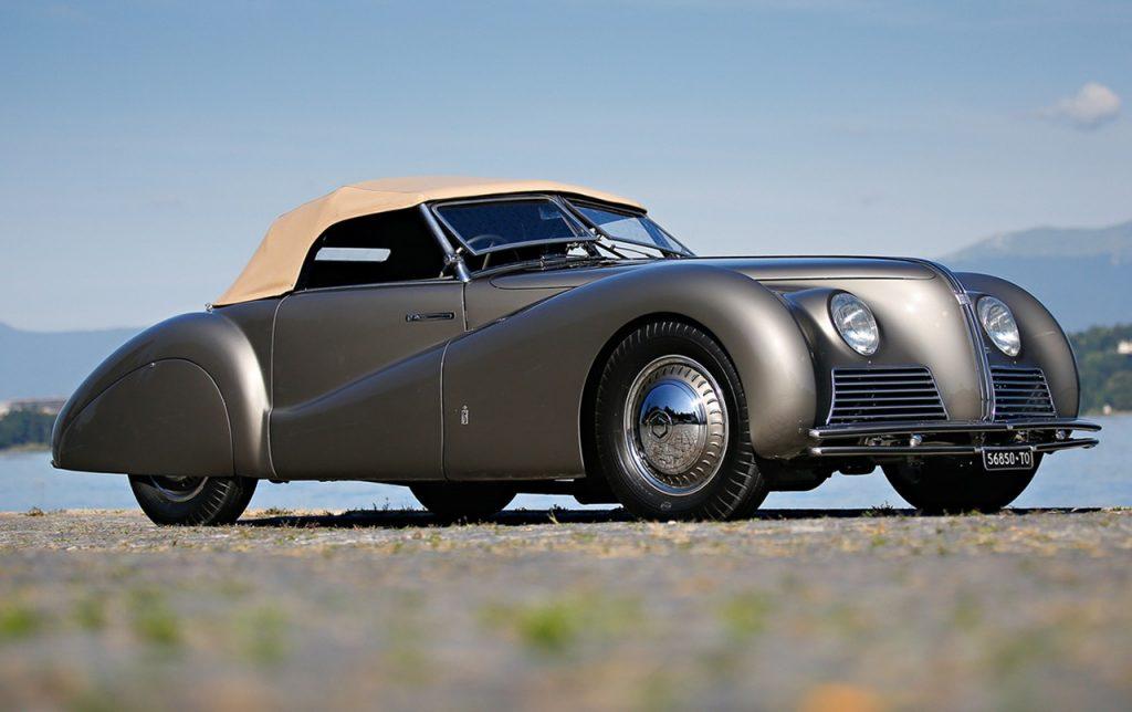 Alfa Romeo Tipo 256 Cabriolet Sportivo – 1939
