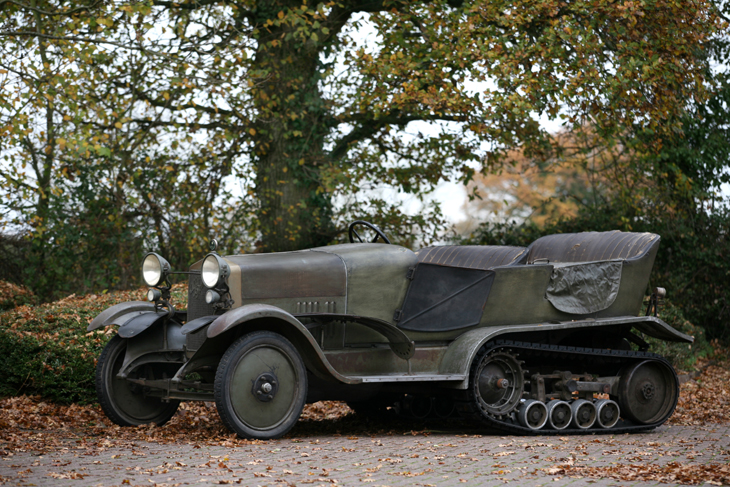 Alfa Romeo RM Four Wheel Drive Half Track Torpedo – 1924