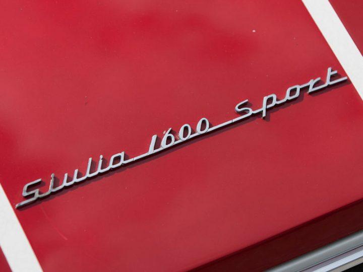 Alfa Romeo Giulia 1600 Sport Pininfarina Coupé - 1965
