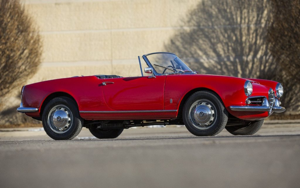 Alfa Romeo Giulia Spider – 1963