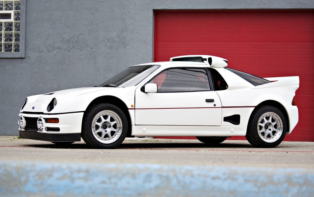 Ford RS200 Evolution – 1986