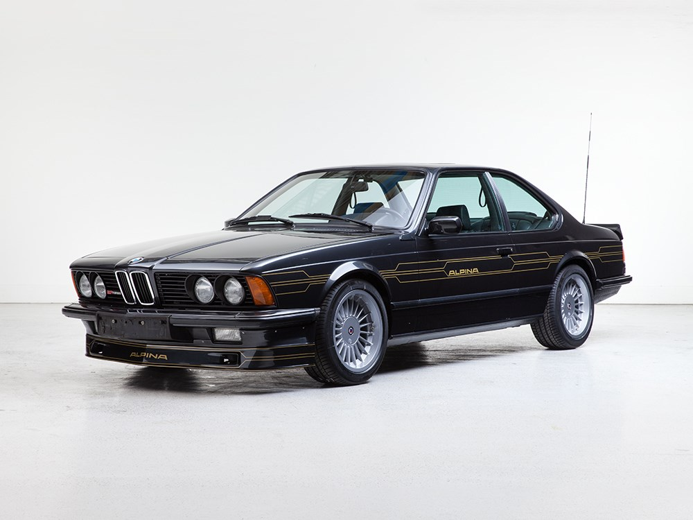 Alpina B7S Turbo Coupe del 1986