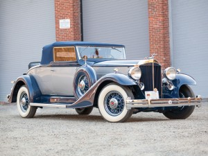Packard Super Eight Coupe Roadster – 1933