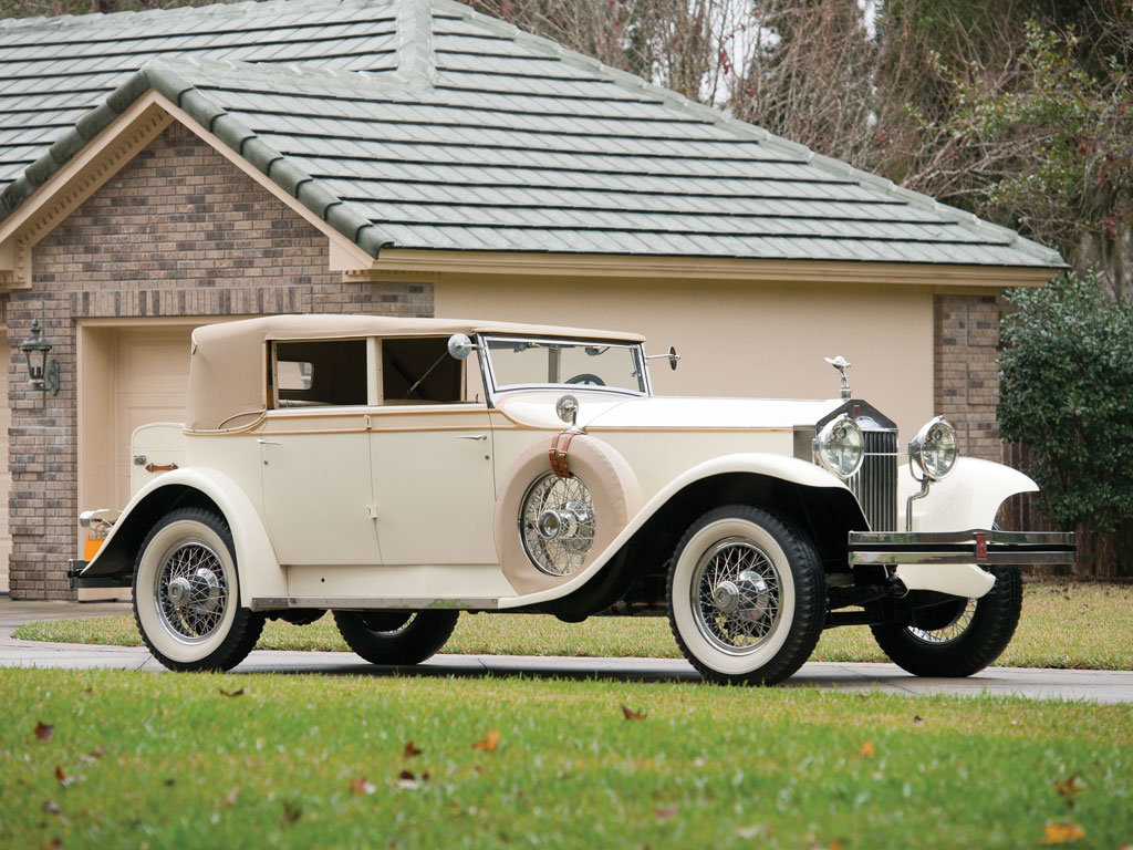 Rolls Royce Phantom I USA Convertible Sedan by Brewster