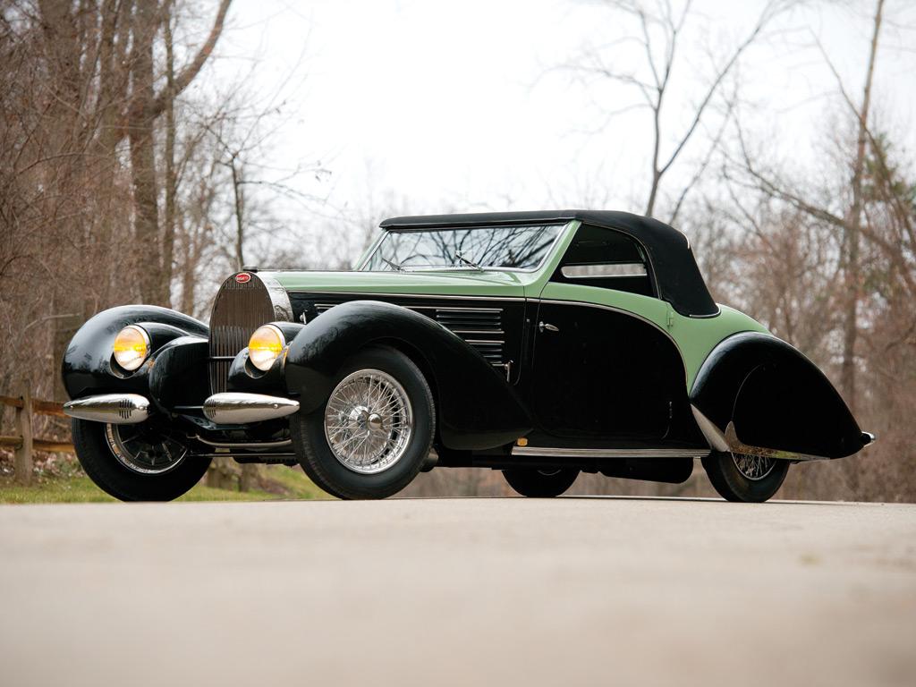 Bugatti Type 57C Aravis Cabriolet by Gangloff – 1938