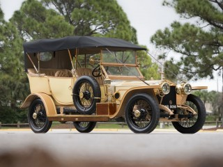 Rolls Royce Silver Ghost Roi des Belges in the style of Barker – 1912