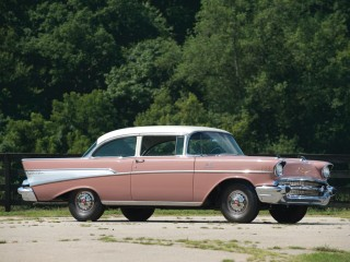 Chevrolet Bel Air Two Door Sedan Fuel Injected – 1957