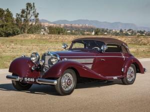 Mercedes Benz 540 K Sport Cabriolet A – 1937