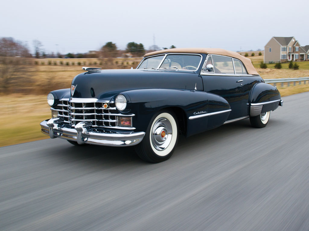 Cadillac Series 62 Convertible Coupe – 1947