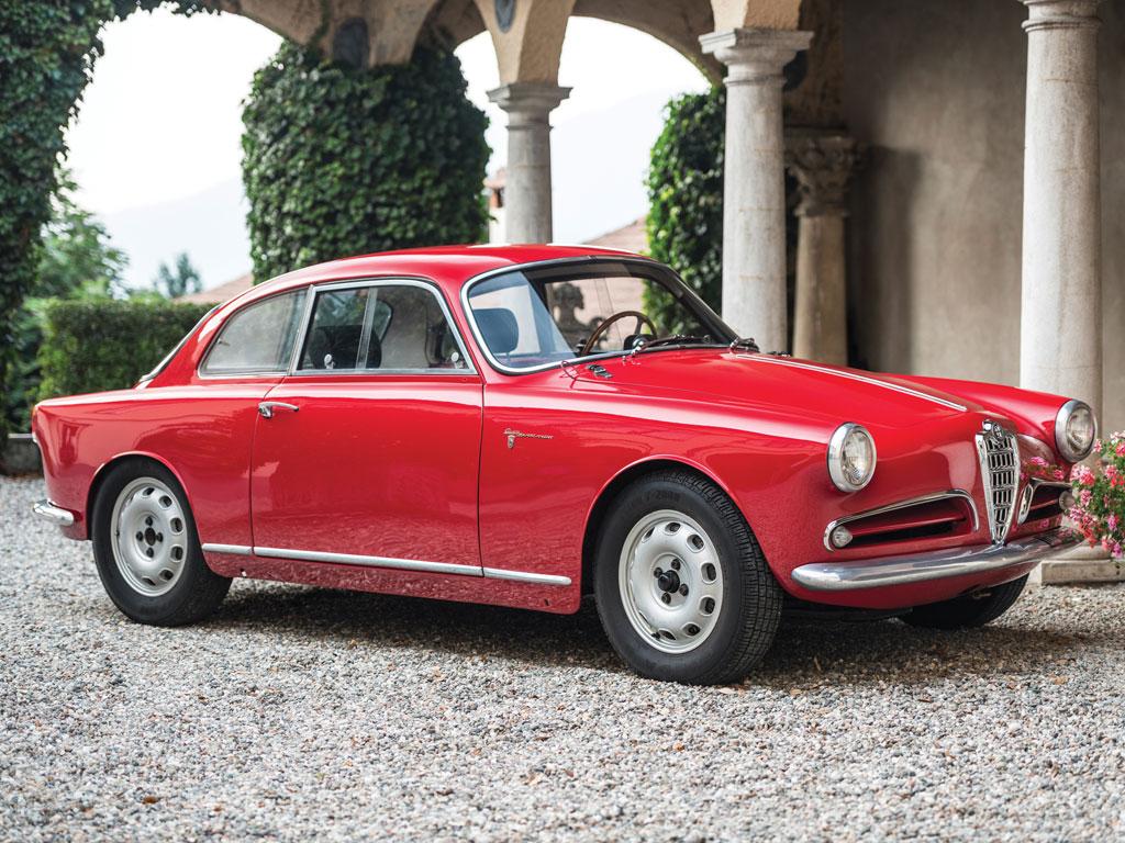 Alfa Romeo Giulietta Sprint Veloce Alleggerita – 1957
