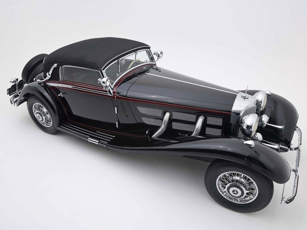 Mercedes Benz 540 K Sport Cabriolet A – 1936