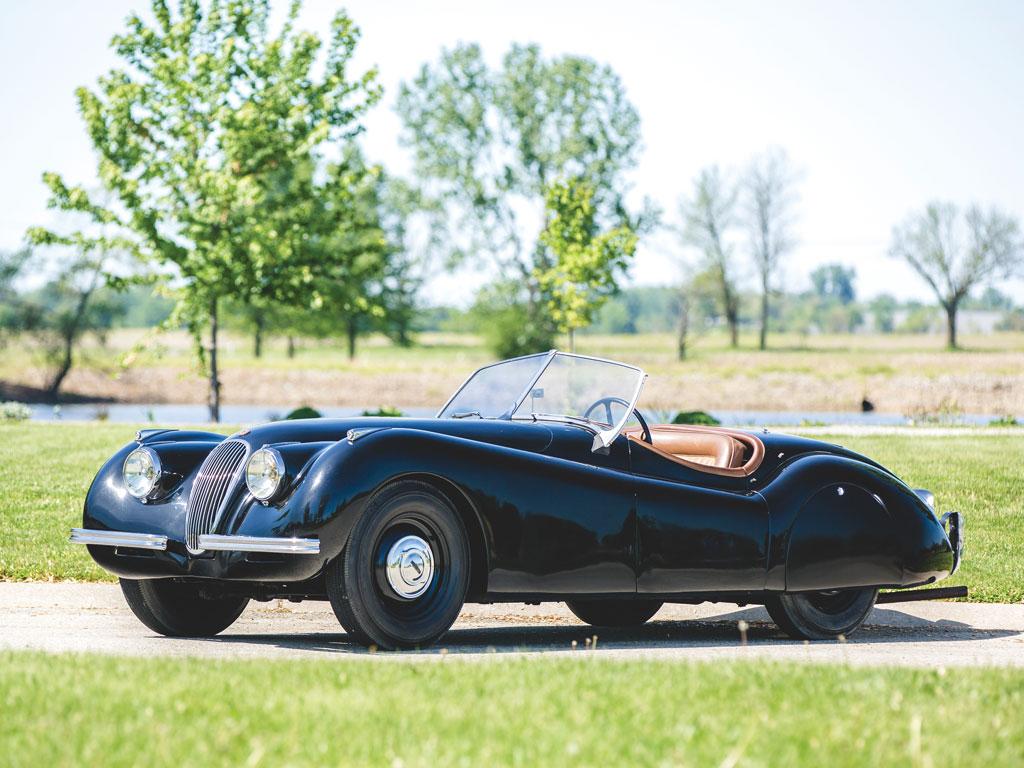 Jaguar XK120 Roadster alluminio – 1949