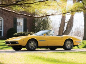 Maserati Ghibli Spyder – 1968 Il primo esemplare prodotto