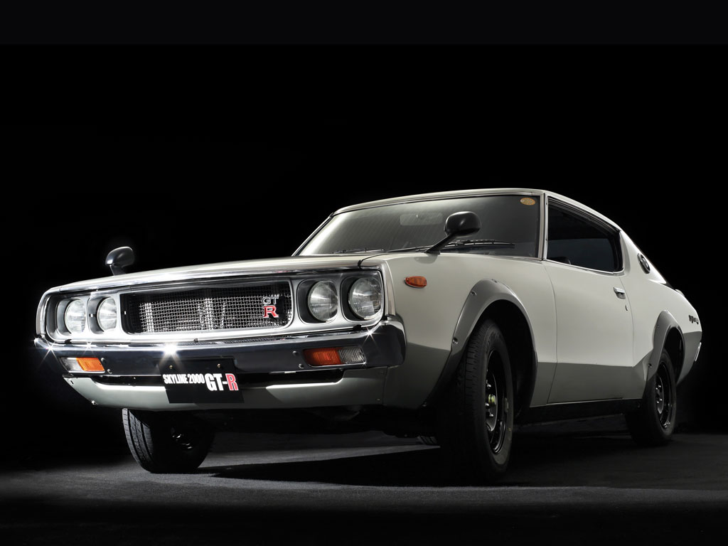 Nissan Skyline H/T 2000GT-R 'Kenmeri' – 1973