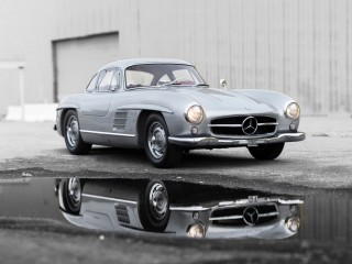 Mercedes Benz 300 SL Gullwing Alluminio – 1955