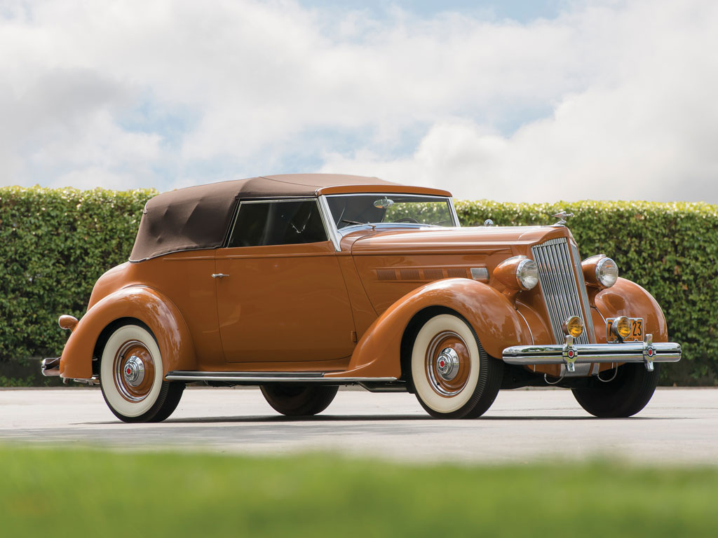 Packard One-Twenty Convertible Victoria