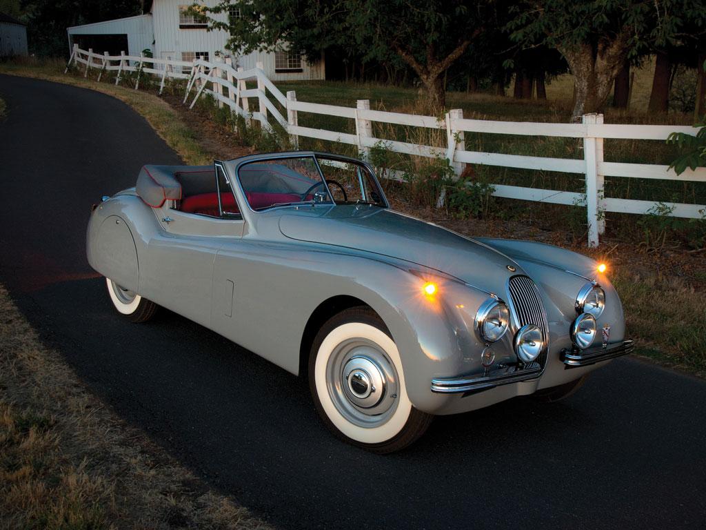 Jaguar XK120 Drophead Coupe – 1953