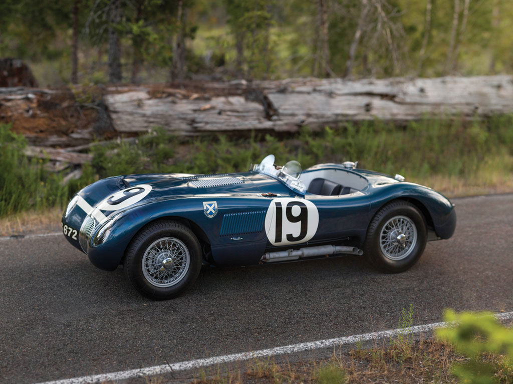 Jaguar C Type Works Lightweight - 1953