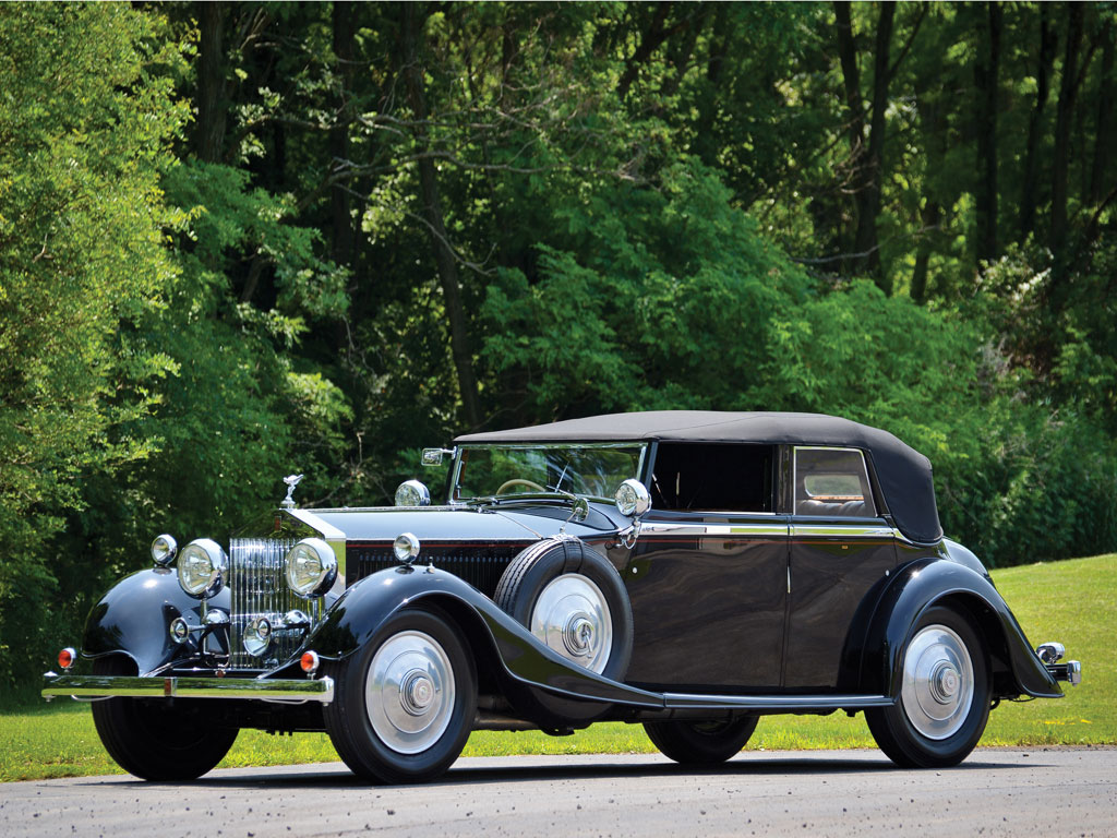 Rolls Royce Phantom II All Weather Tourer – 1929