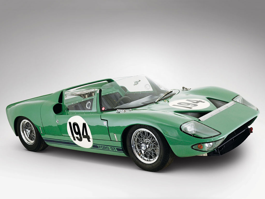 Ford GT40 Works Prototype Roadster – 1965