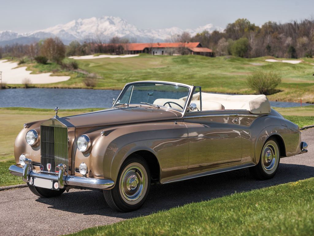 Rolls Royce Silver Cloud II Dropped Coupe