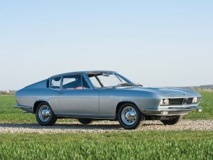 BMW-Glas 3000 V8 Fastback One Off by Frua – 1967