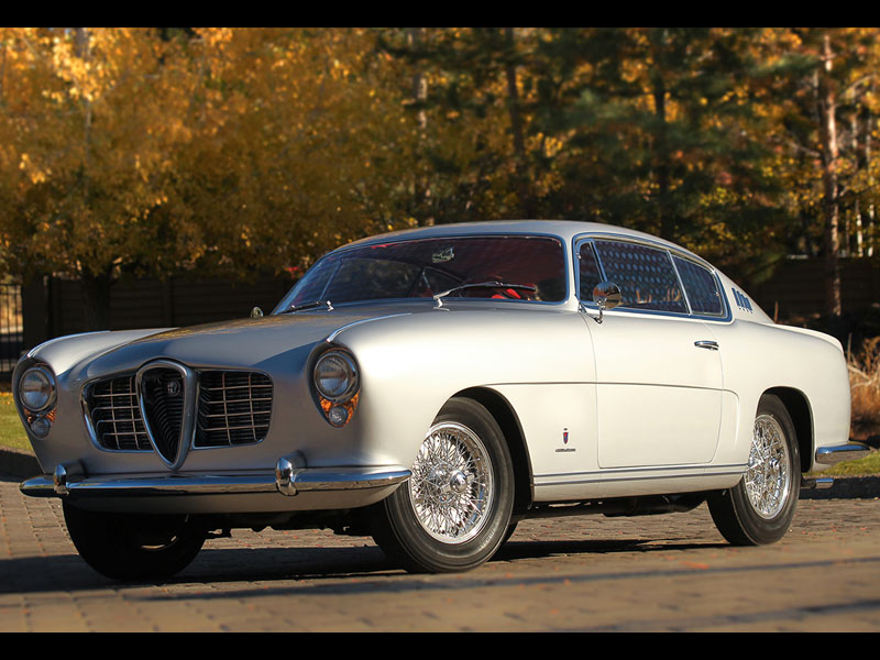 Alfa Romeo 1900C SS Coupe by Ghia – 1954