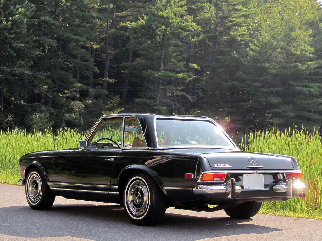 Mercedes benz 280 sl pagoda 1969 for Mercedes benz pagoda