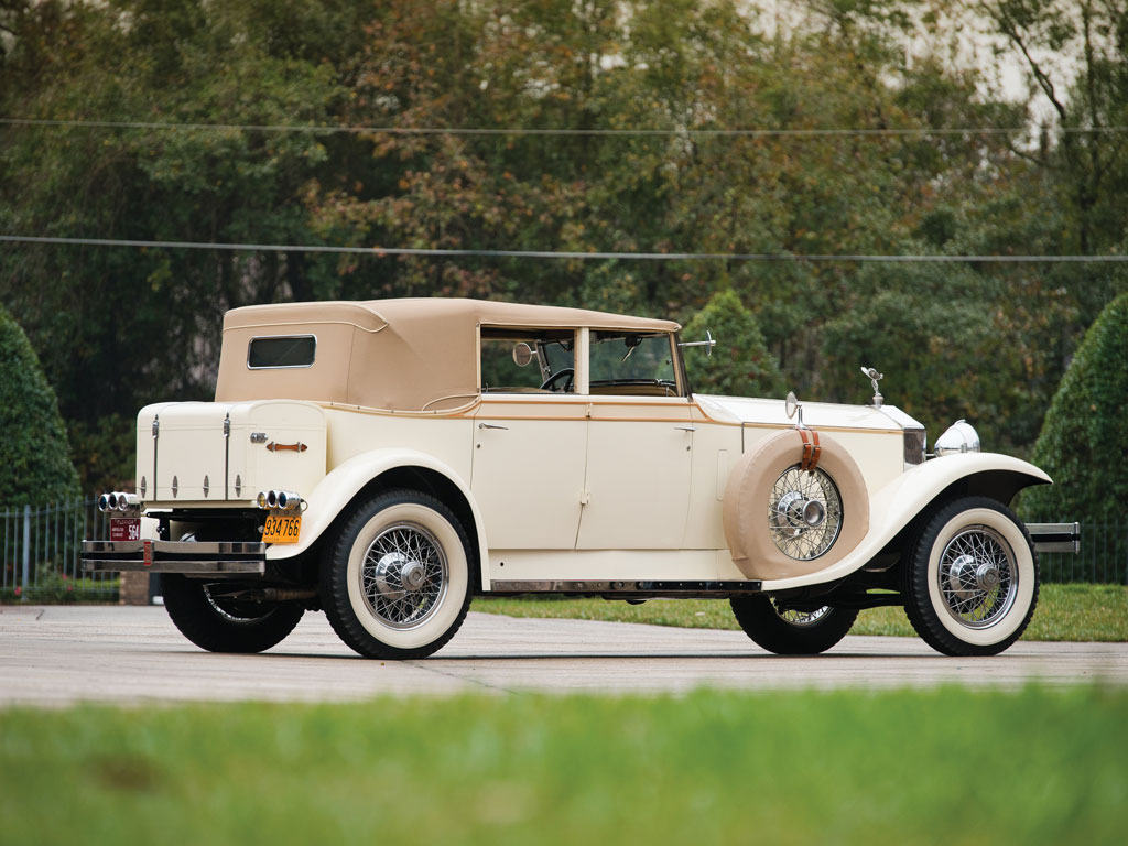 Rolls Royce Phantom I Usa Convertible Sedan By Brewster 1927