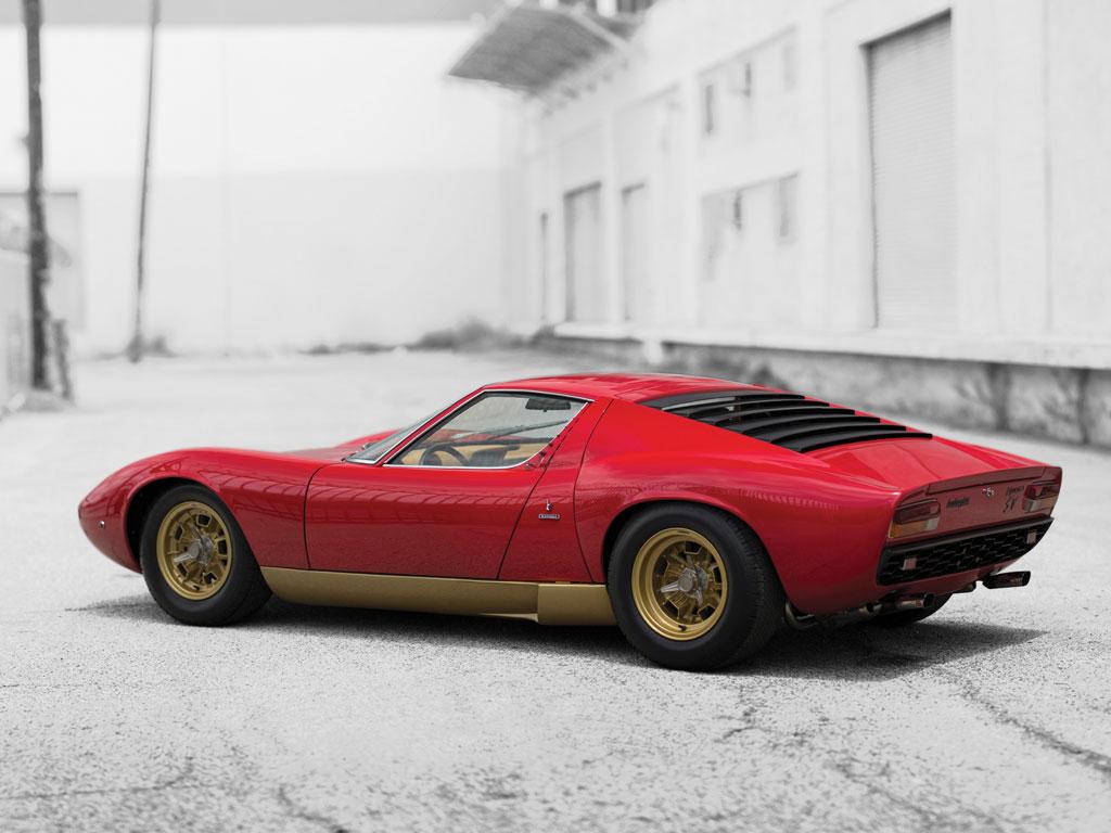 Lamborghini Miura P400 Sv 1971