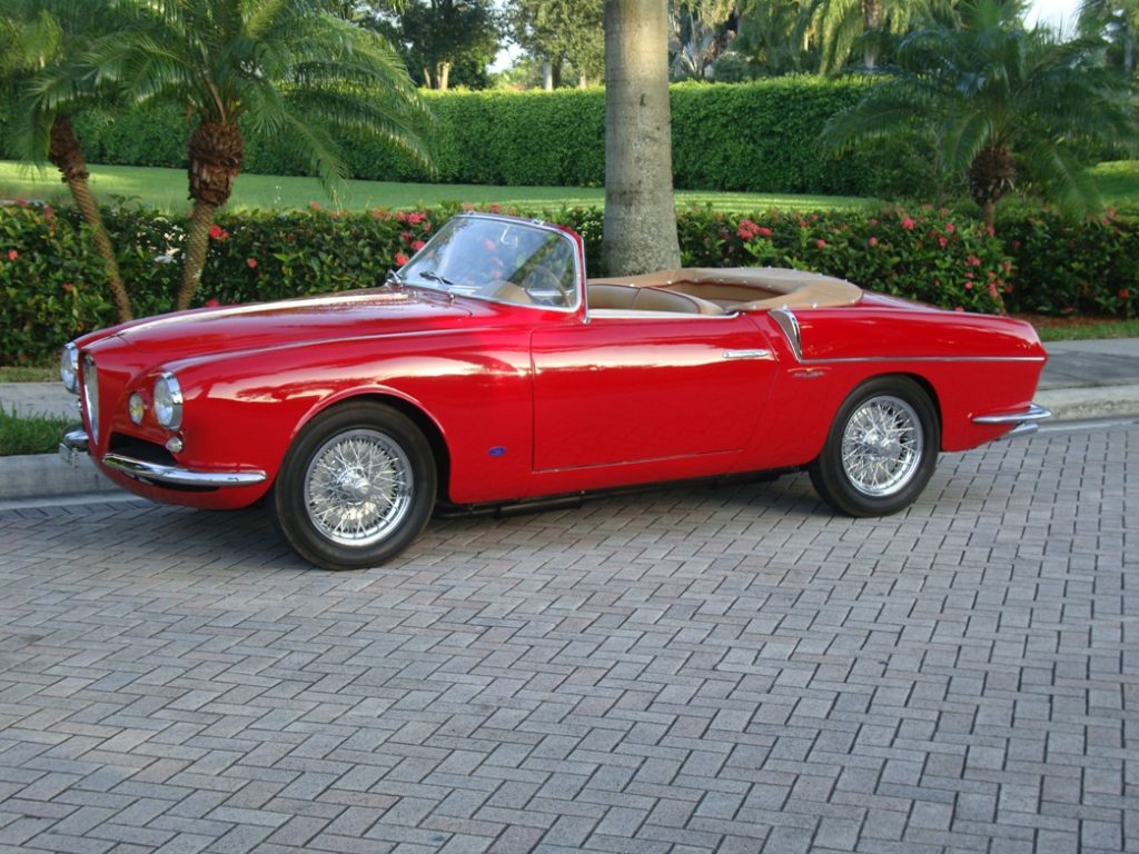alfa romeo 1900 super sprint cabriolet 1955. Black Bedroom Furniture Sets. Home Design Ideas
