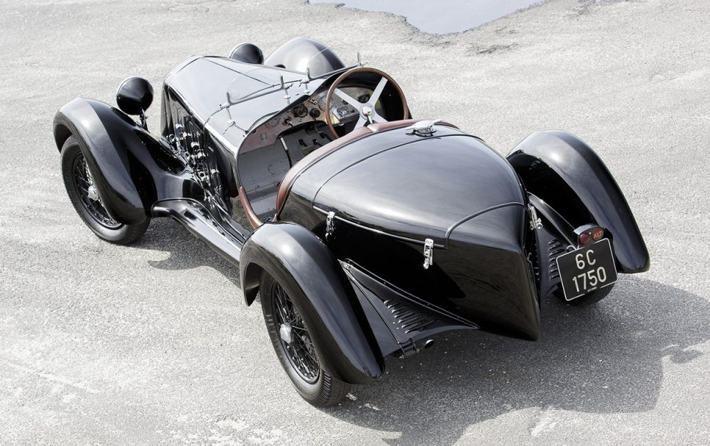 alfa romeo 6c 1750 ss spider 1929. Black Bedroom Furniture Sets. Home Design Ideas