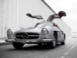 Mercedes Benz 300 SL Gullwing Alluminio