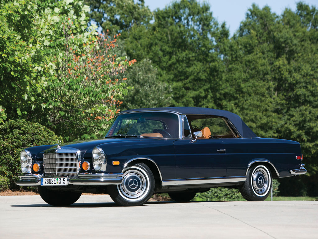mercedes benz 280 se 3 5 cabriolet 1971. Black Bedroom Furniture Sets. Home Design Ideas